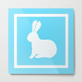 Easter Rabbit 8 Metal Print