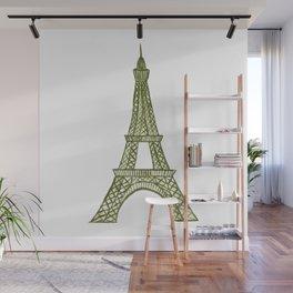 Eiffel tower GOLD / La tour Eiffel - PAINTED Wall Mural