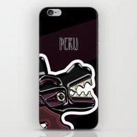 peru iPhone & iPod Skins featuring Ancient Peru by Franco Olivera