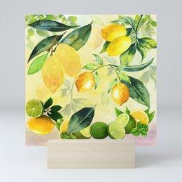 In the Lemon Orchard Mini Art Print