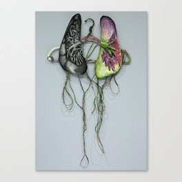 Lungs on Hanger Canvas Print