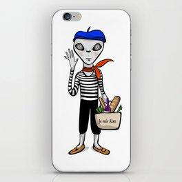 Je suis Alan iPhone Skin