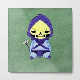 A Boy - Skeletor Metal Print