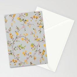 vintage floral vines - spring colors Stationery Cards