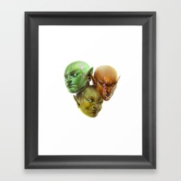 Think Alike Framed Art Print
