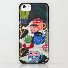 Suspicious mugs iPhone 5c Slim Case
