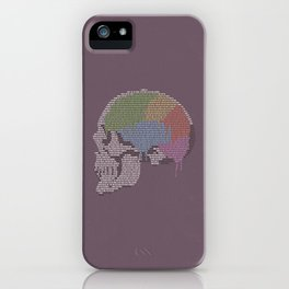 Shadow In The Rose Garden iPhone Case