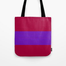 Tribal Blue Tote Bag