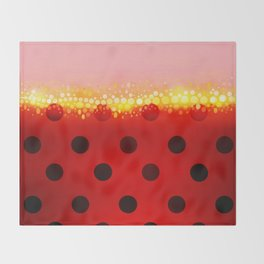 miraculous ladybug designs 1/2 Throw Blanket