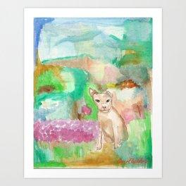 Doggy Art Print