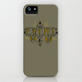 RAPTURE iPhone Case