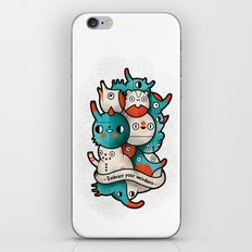 Embrace your weirdness iPhone & iPod Skin