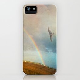 Rainbow Flight iPhone Case