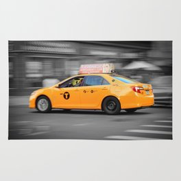 Yellow Taxi Rug