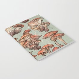 A Series of Mushrooms Notebook