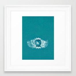 Eye of the Phoenix Framed Art Print