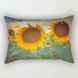 favorite sunset view Rectangular Pillow
