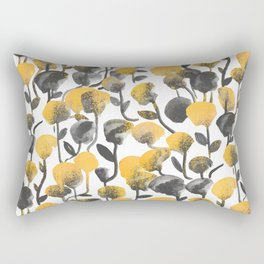 Full Of Flower Rectangular Pillow