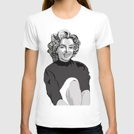 MM cover girl T-shirt