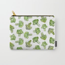 Broccoli - Scattered Carry-All Pouch