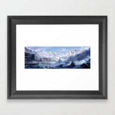 Welcome to Alaska  Framed Art Print