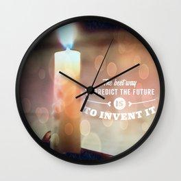 Predict The Future, Invent It !! Wall Clock