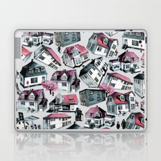 Danish small town pattern Laptop & iPad Skin