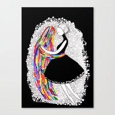 Ghosts Dance Canvas Print