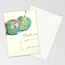 "Édouard Manet ""Letter (Lettre)"" Stationery Cards"