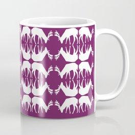 Oh, deer! in violet purple Coffee Mug