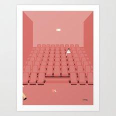 GÅ I BIOGRAFEN Art Print