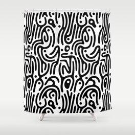Identity Pattern Shower Curtain