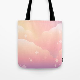 Lucy in the Kawaii with Diamonds Tote Bag