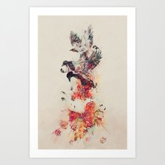 The Feast Art Print