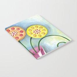 Lollipop Flowers Notebook