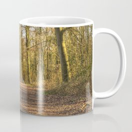 The Forest Path in Springtime Coffee Mug