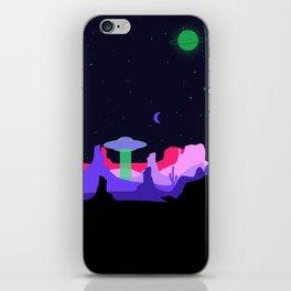 Hello ufo iPhone Skin