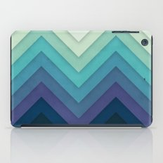 Retro Chevrons 001 iPad Case