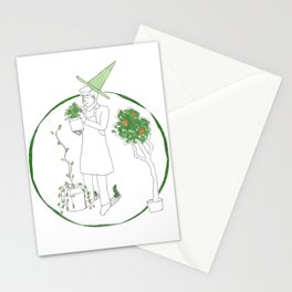 Gardening is hard when you're a warlock! Stationery Cards