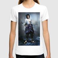 sasuke T-shirts featuring Sasuke real style portrait by Shibuz4