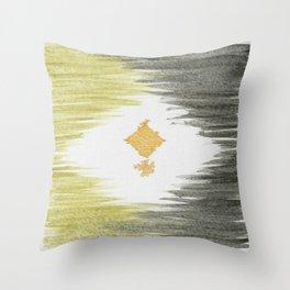 Simple Semetry  Throw Pillow