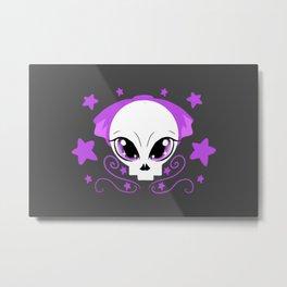 Starstruck Pastel Goth Metal Print