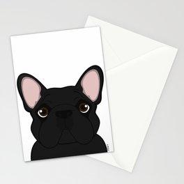 Frenchie - Black Brindle Stationery Cards