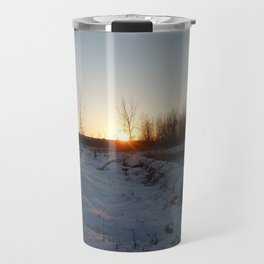 Winter Sunset - I Travel Mug