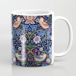 William Morris Strawberry Thief Pattern Coffee Mug