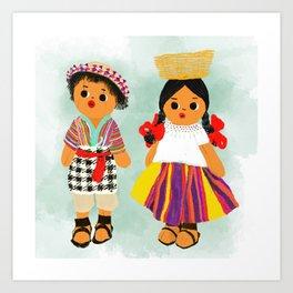My beautiful Guatemala Art Print