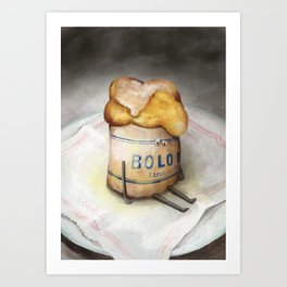Bolo de Arroz - The Loner Art Print