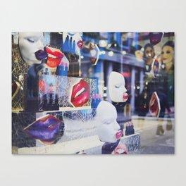 Lip-licious Canvas Print