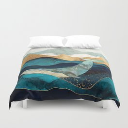 Blue Whale Duvet Cover