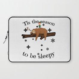 Sloth Late Sleepers Christmas Sleep Sleepy Lazy Laptop Sleeve